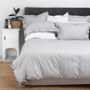 Super Soft Striped Duvet Set